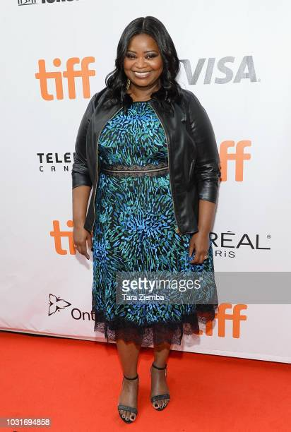 Octavia Spencer attends the 'Green Book' premiere during 2018 Toronto International Film Festival at Roy Thomson Hall on September 11 2018 in Toronto...