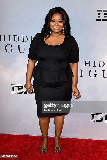 "Octavia Spencer attends the ""Hidden Figures"" New York Special Screening on December 10, 2016 in New York City."