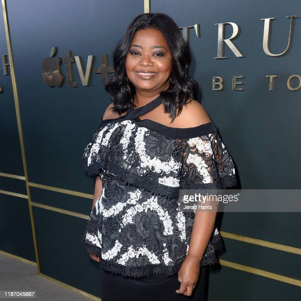 Octavia Spencer attends the Premiere of Apple TV's Truth Be Told at AMPAS Samuel Goldwyn Theater on November 11 2019 in Beverly Hills California