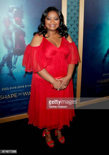 Octavia Spencer attends the premiere of 'The Shape Of Water' at Academy Of Motion Picture Arts And Sciences on November 15 2017 in Los Angeles...