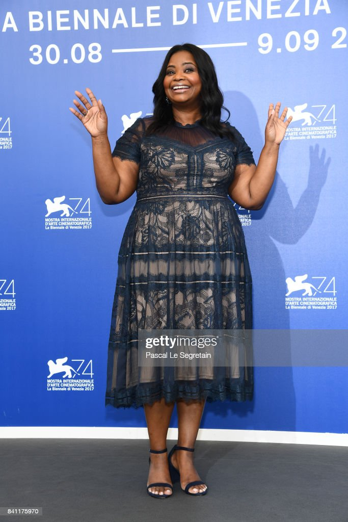 Octavia Spencer attends the 'The Shape Of Water' photocall during the 74th Venice Film Festival on August 31, 2017 in Venice, Italy.
