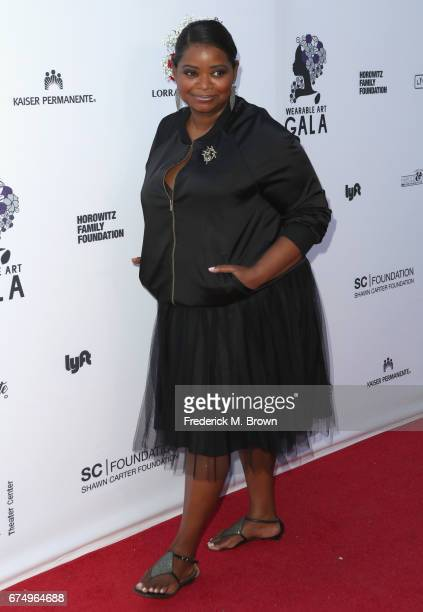 Octavia Spencer attends the Wearable Art Gala at California African American Museum on April 29 2017 in Los Angeles California