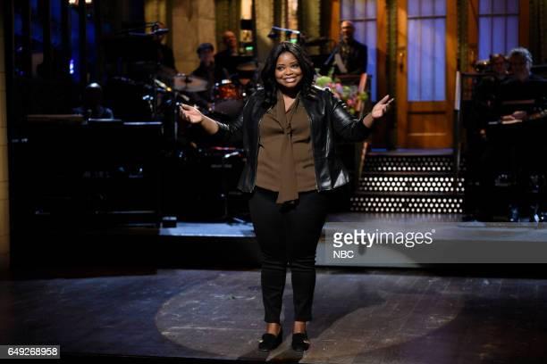 LIVE 'Octavia Spencer' Episode 1719 Pictured Host Octavia Spencer delivers the monologue on March 4 2017