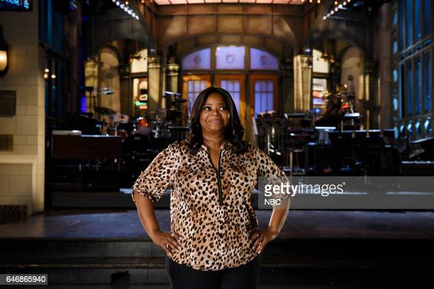 LIVE 'Octavia Spencer' Episode 1719 Pictured Host Octavia Spencer poses in Studio 8H on February 28th 2017