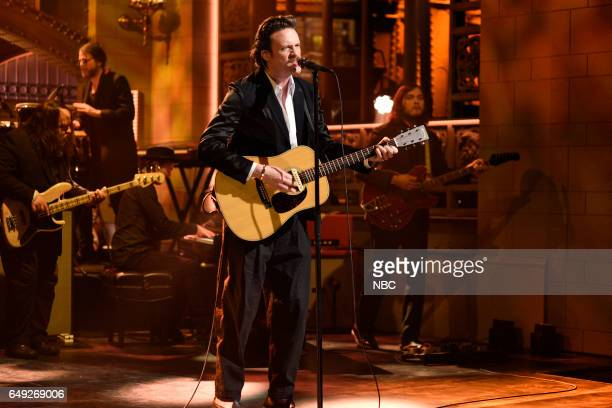 LIVE 'Octavia Spencer' Episode 1719 Pictured Musical guest Father John Misty performs on March 4 2017