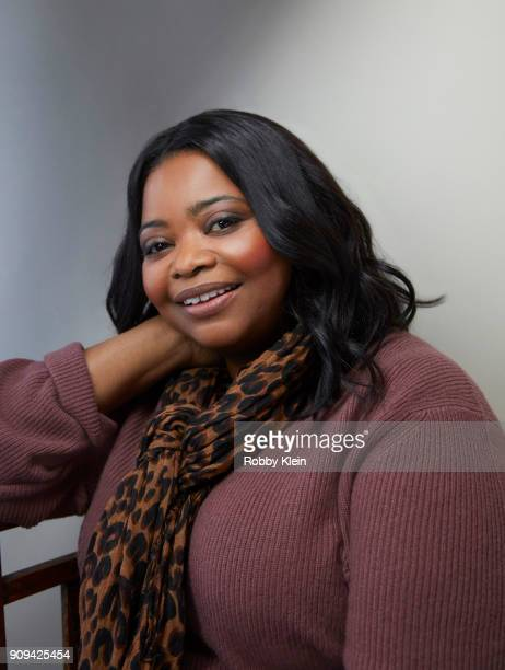 Octavia Spencer from the film 'A Kid Like Jake' poses for a portrait in the YouTube x Getty Images Portrait Studio at 2018 Sundance Film Festival on...