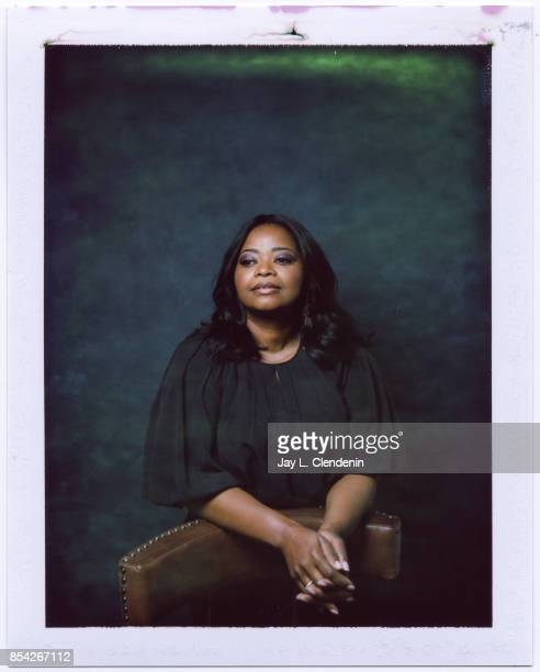 Octavia Spencer from the film 'The Shape of Water' is photographed on polaroid film at the LA Times HQ at the 42nd Toronto International Film...