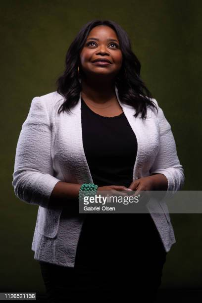 Octavia Spencer poses for a portrait at Morgan Stanley presents Alfre Woodard's 10th Annual Sistahs' Soiree on February 20 2019 in Los Angeles...