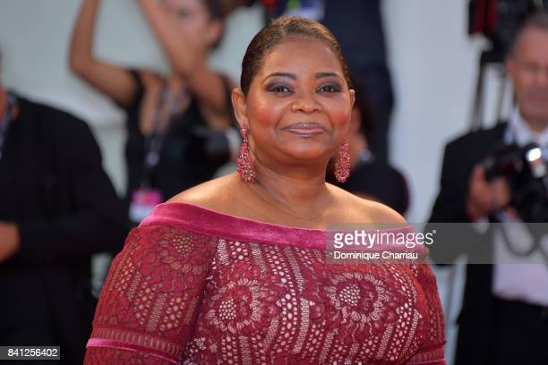 Octavia Spencer walks the red carpet ahead of the 'The Shape Of Water' screening during the 74th Venice Film Festival at Sala Grande on August 31...