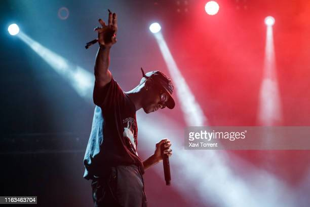 Octavian performs in concert during the Festival Internacional de Benicassim on July 21, 2019 in Benicassim, Spain.