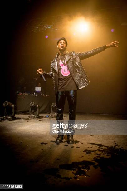 Octavian performs on stage at O2 Forum Kentish Town on February 28, 2019 in London, England.