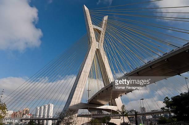 Octavio frias de oliveira bridge ,Sao Paulo