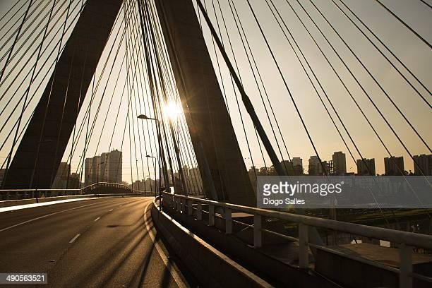 Octavio Frias de Oliveira Bridge - Stayed Bridge