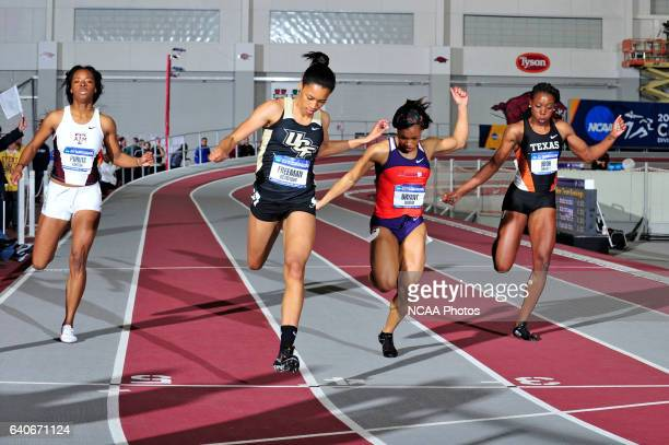 Octavious Freeman of Central Florida wins her heat of the women's 200 meter dash during the Division I Men's and Women's Indoor Track and Field...