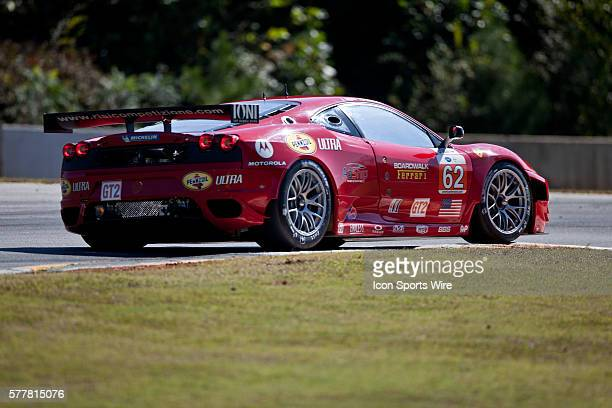 Risi Competizione Ferrari 430 GT during qualifying for the 13th annual Petit Le Mans at Road Atlanta in Braselton Georgia