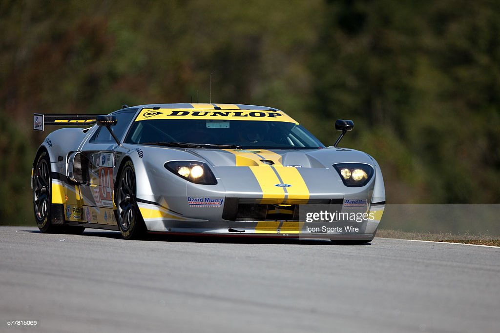 Robertson Racing  Doran Design Ford Gt During Qualifying For The Th Annual Petit Le