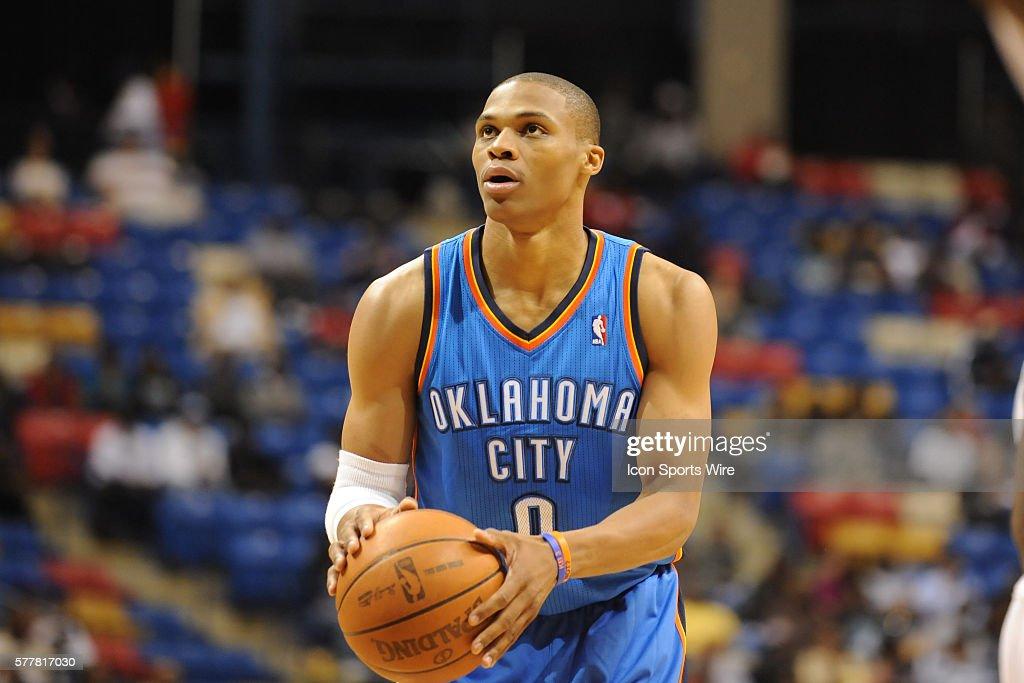 NBA: OCT 06 Preseason - Thunder v Bobcats : News Photo