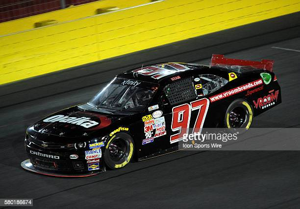 Xfinity Series driver Ryan Ellis runs in the Xfinity Series Drive For a Cure 300 at Charlotte Motor Speedway in ConcordNC