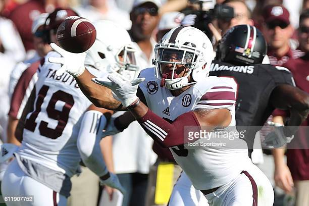 Texas AM Aggies wide receiver Christian Kirk makes a catch against the South Carolina Gamecocks during the second quarter at WilliamsBrice Stadium in...