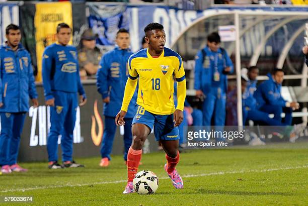 Ecuador's Jonathan Gonzalez The Men's National Team of the United States and the Men's National Team of Ecuador played to a 11 draw in an...
