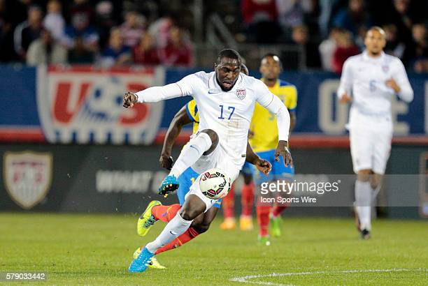 United States' Jozy Altidore turns upfield The Men's National Team of the United States and the Men's National Team of Ecuador played to a 11 draw in...