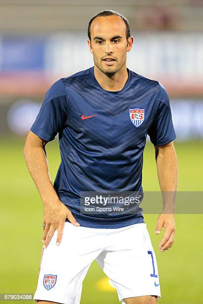 United States' Landon Donovan The Men's National Team of the United States and the Men's National Team of Ecuador played to a 11 draw in an...
