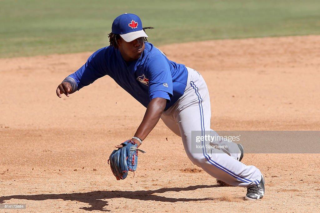 MiLB: OCT 10 Florida Instructional League - FIL Blue Jays at FIL Phillies : News Photo