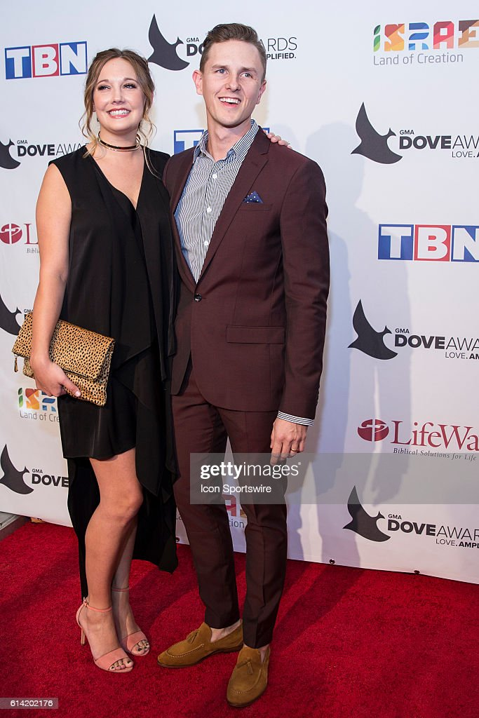 Stars Go Dim lead singer Chris Cleveland and wife Kenzie Cleveland