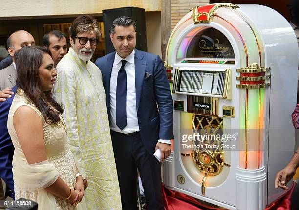 Amitabh Bachchan unveils a jukebox gifted to him by his fans on his