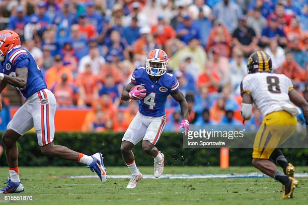 Florida Gators wide receiver Brandon Powell during the NCAA football game between the Florida Gators and the Missouri Tigers at Ben Hill Griffin...