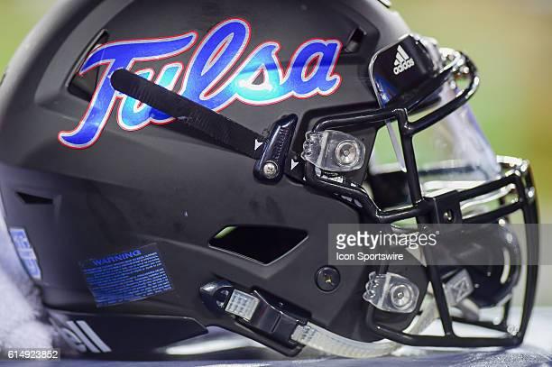 Tulsa helmet during the Tulsa Golden Hurricanes at Houston Cougars game at TDECU Stadium, Houston, Texas.