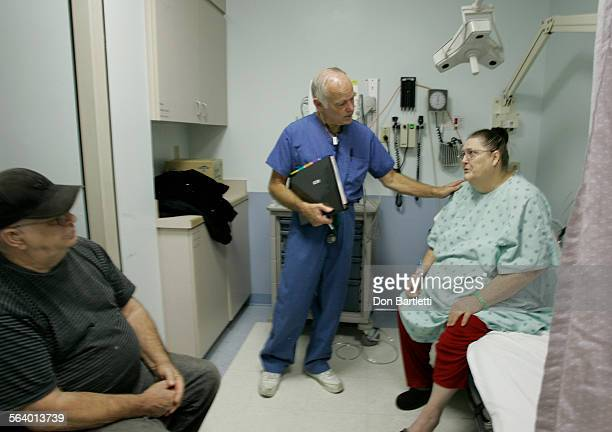 October 16 2006 Crescent City CA Dr Jim Holmes gently breaks the news to 65–yr–old Carolyn Dyer that x–rays detected blockage in her heart She came...