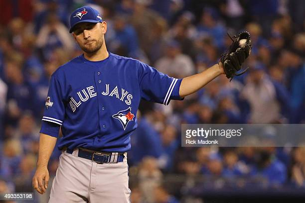 October 16 2015 Blue Jays starting pitcher Marco Estrada Toronto Blue Jays V Kansas City Royals in Games 1 of the American League Championship Series...
