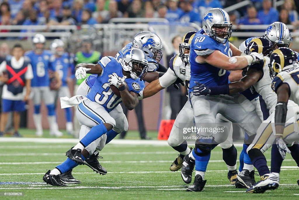 NFL: OCT 16 Rams at Lions : News Photo