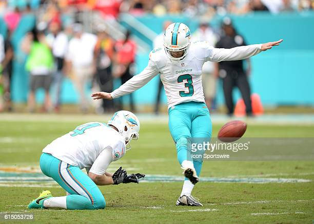 October 16 2016 Miami Dolphins kicker Andrew Franks in action during the second half in a game between the Miami Dolphins and the Pittsburgh Steelers...