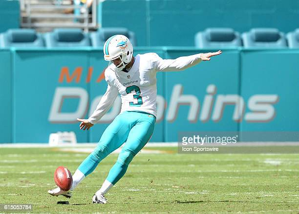 October 16 2016 Miami Dolphins kicker Andrew Franks in action during the first half in a game between the Miami Dolphins and the Pittsburgh Steelers...