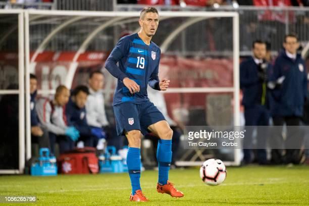 Ben Sweat of the United States in action during the United States Vs Peru International Friendly soccer match at Pratt Whitney Stadium Rentschler...