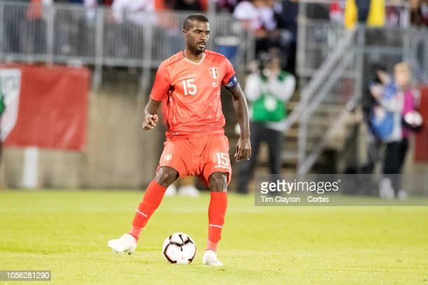 Christian Ramos of Peru in action during the United States Vs Peru International Friendly soccer match at Pratt Whitney Stadium Rentschler Field on...