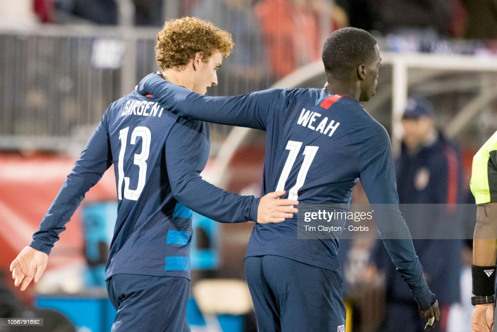 U.S. Men's National Team vs. Peru : News Photo