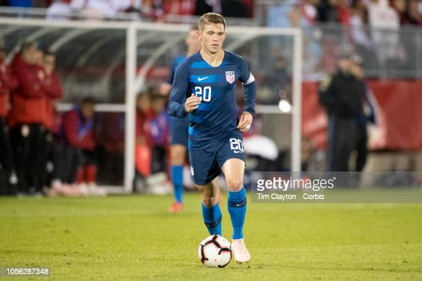 Wil Trapp of the United States in action during the United States Vs Peru International Friendly soccer match at Pratt Whitney Stadium Rentschler...
