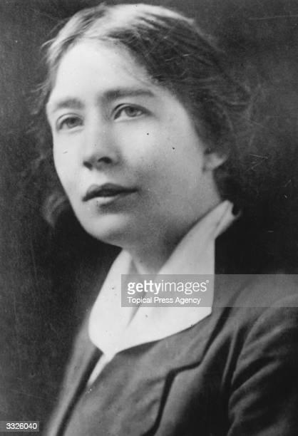 Sylvia Pankhurst English campaigner for women's suffrage Labour politics pacificism and internationalism Original Artist By Elliott Fry