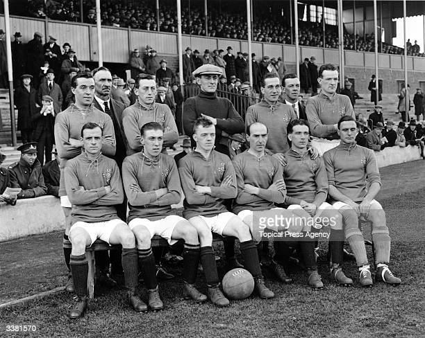 The Irish national football team about to play England at West Bromwich Albion's ground The Hawthorns