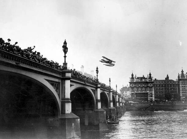 Flying Over Bridge Wall Art