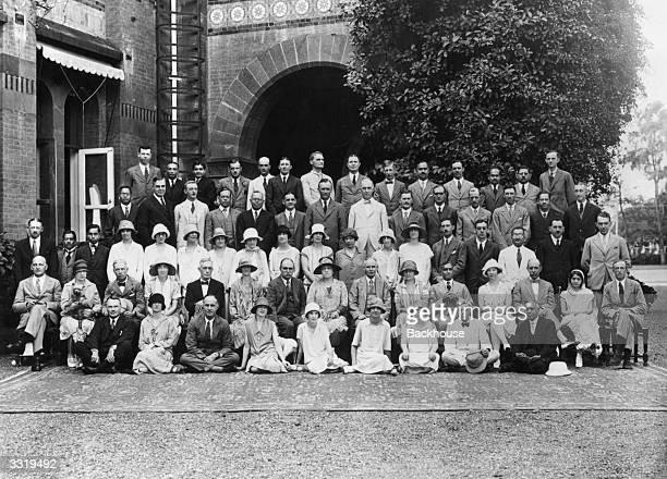 Group of members of the Indian Civil Service of the Bombay Presidency taken at Poona during their annual gathering