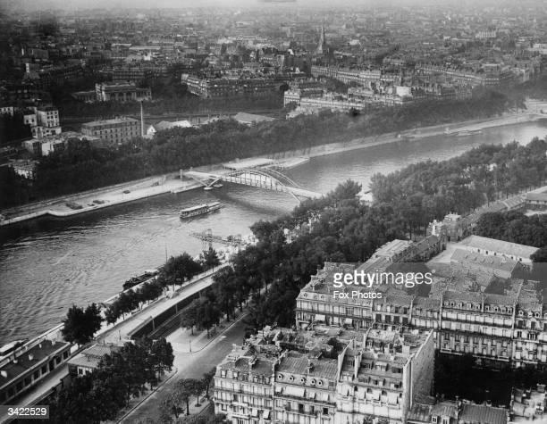 A view of Paris across the Seine