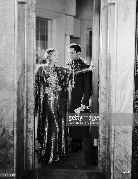 SwedishAmerican actress Greta Garbo plays the title role in the drama 'Mata Hari' directed by George Fitzmaurice Her onscreen lover is Ramon Novarro...