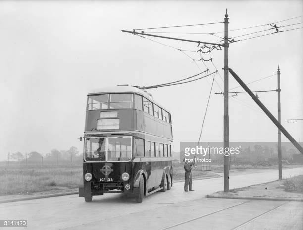 Trolleybus Stockfoto S En Beelden Getty Images