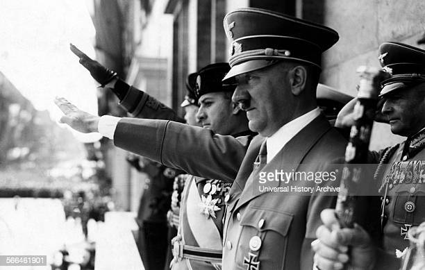 October 1939 visit of the Italian Foreign Minister Count Ciano to Adolf Hitler in Berlin was a new confirmation of the unity of the two Axis powers.