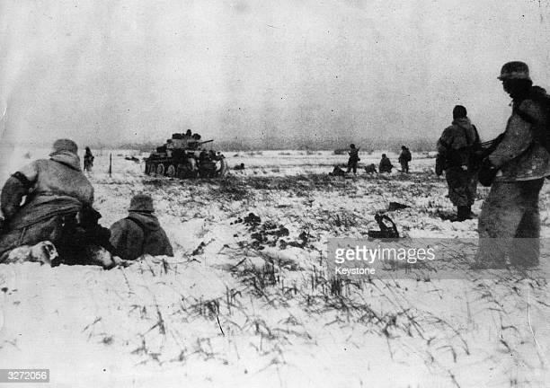 Nazis in the Caucasus begin to make defence preparations The Russians have been making headway against the German strong points on the Kerch Peninsula