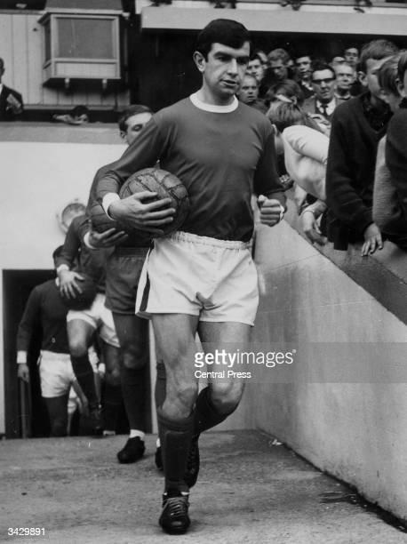The Rotherham United captain Brian Tiler